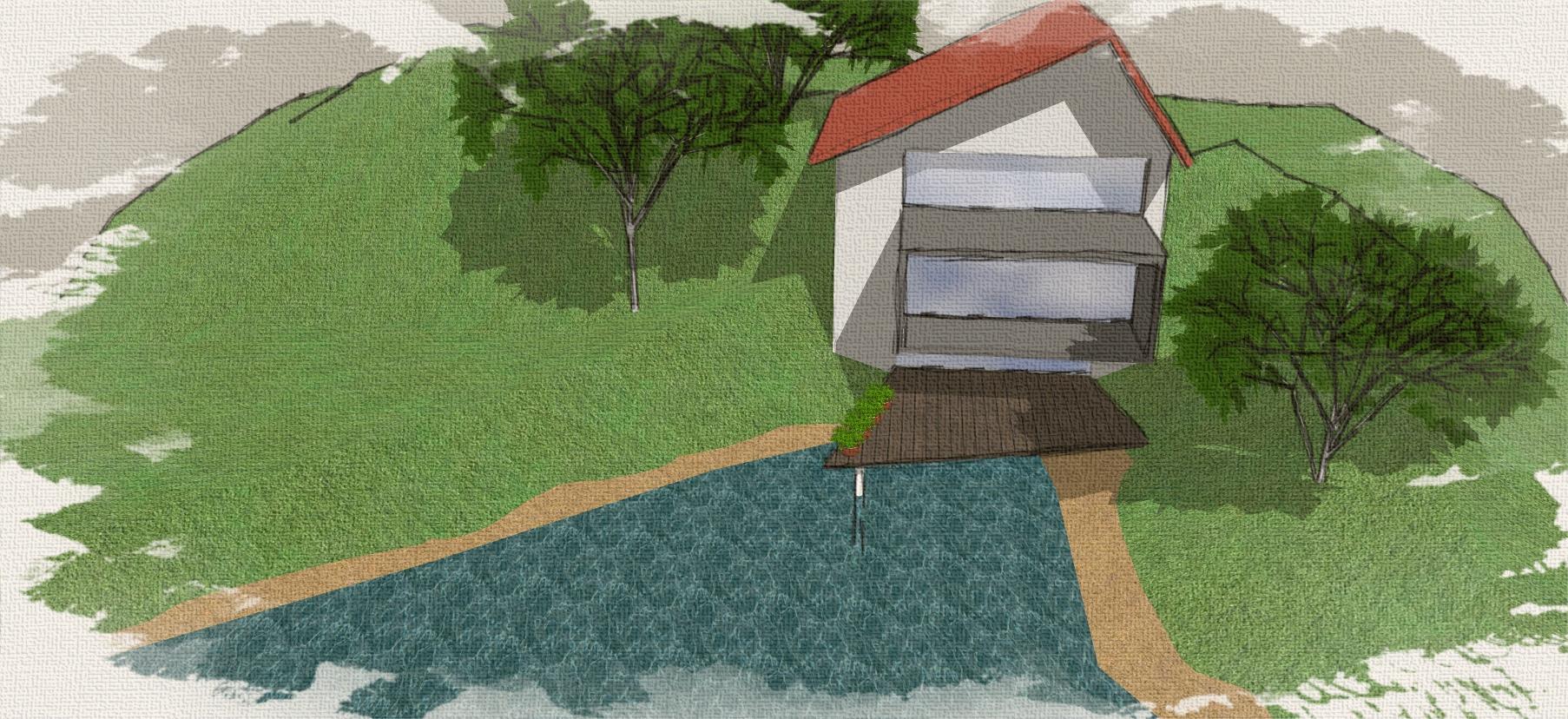 Gelände mit Haus_10